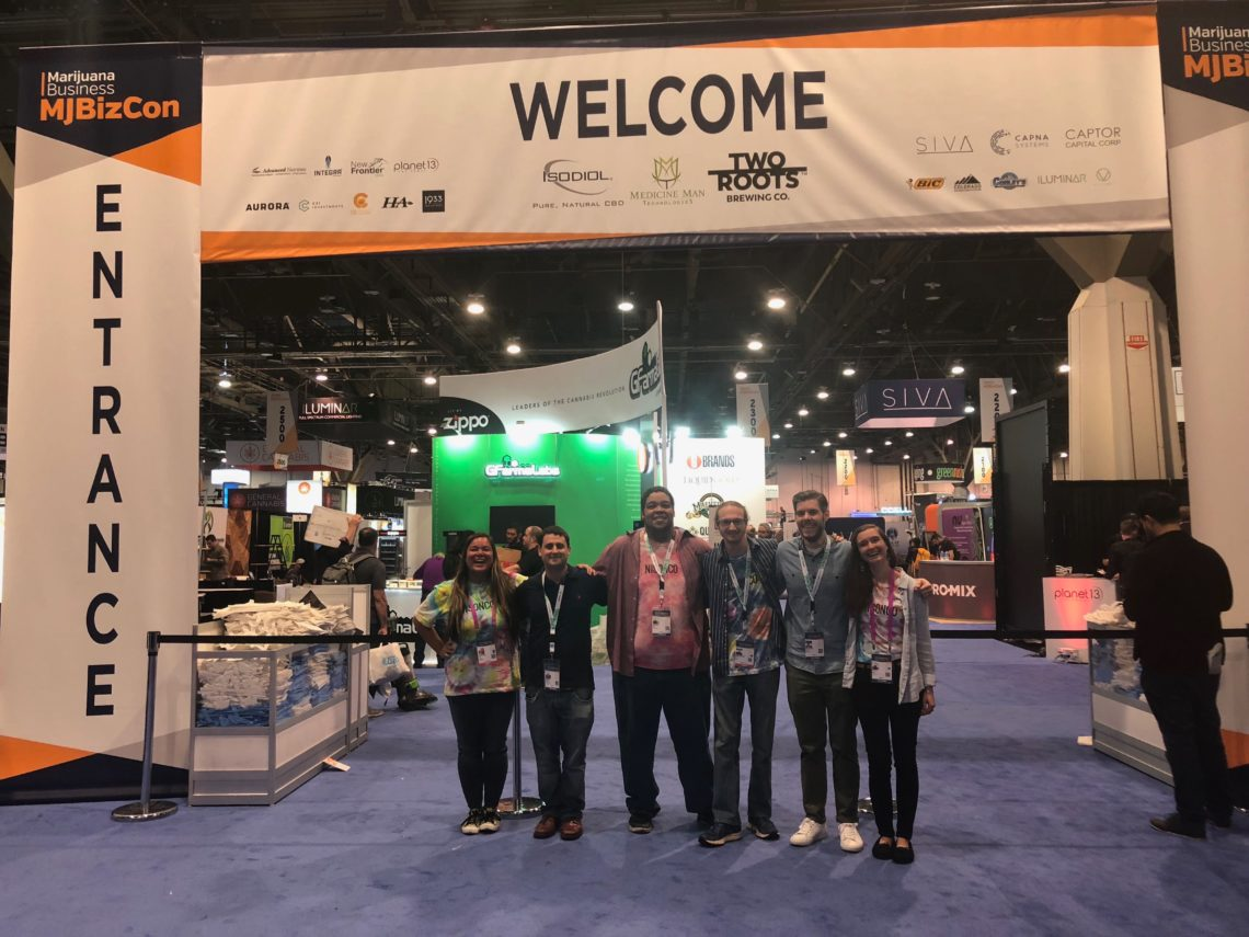 NISONCO team members gather at MJBizCon.